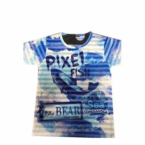f8a23054 Triki Bub Cotton Kids Round Neck Printed T-Shirt, Rs 350 /piece | ID ...