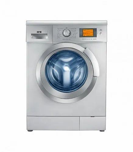 IFB 8 kg Fully Automatic Front Load Washing Machine, Senator Aqua SX, Silver