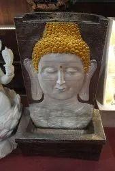 Buddha Face Wall Waterfall
