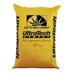 Cement Ultratech Bulk Quantity Rate, Packaging Size: 50kg, Packaging Type: Sack Bag
