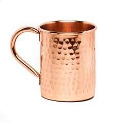 Hammered Copper Moscow Mule Mugs NJO-6444