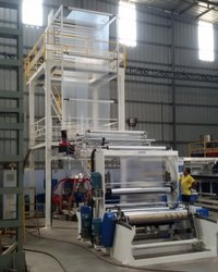 2 Layer HDPE /LDPE Co-Extrusion Blown Film Plant