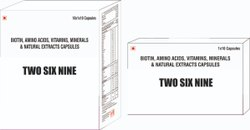 Biotin Aminoacid Vit Minerals & Natural Extract Capsule
