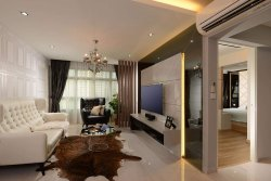Custom Living Room Interior
