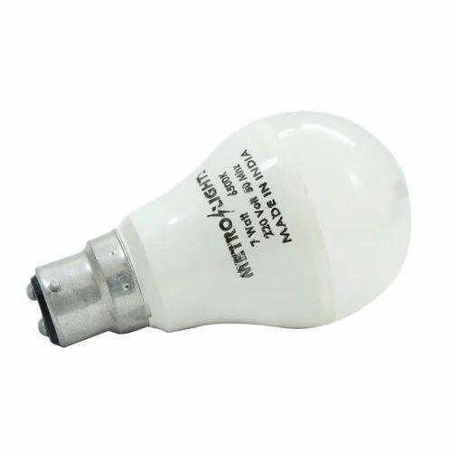 Cool daylight Aluminum LED Bulb 7W LED Bulb, Base Type: B22, Type of