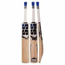 Standard Handle Brown SS Kashmir Willow Leather Ball Cricket Bat