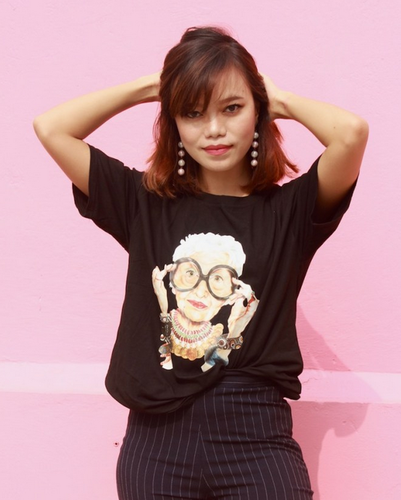 47c59f903 Girls Round Iris Apfel Tee, Rs 899 /piece, Appycat Private Limited ...
