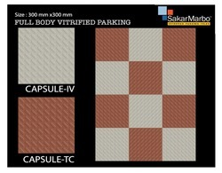 Capsule Full Body Vitrified Parking Tiles