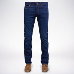 Plain Casual Wear Mens Blue Denim Jeans