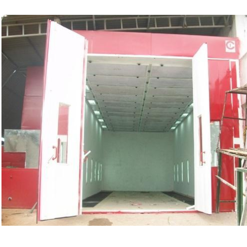 Bus Paint Booth - Portable Paint Spray Booth Manufacturer from Hyderabad