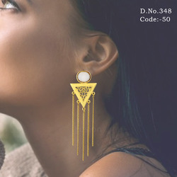 Designer Tassel Earring