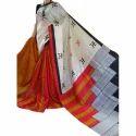 Block Print Silk Sarees