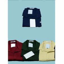 38.0 And 42.0 Plain Mens Cotton Full Sleeves Shirt