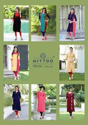 Kajal Style Mitto Kurti