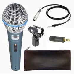 Beta-58A Dynamic Vocal Karaoke Microphone With 3.5mm Connector