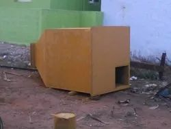 GSV Mild Steel Hopper, For Storage The Material, Weight Capacity: 100 Kg