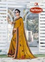 Printed Georgette Crepe Saree - Parinay-02