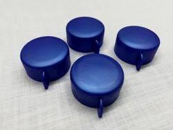 Round Blue Fridge Bottle Cap