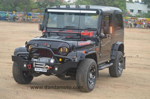 Mahindra Thar Hardtop Modification In Dandamoto Coimbatore, Italian