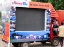 Led Screen Mobile Van On Rent