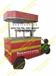 Automatic Panipuri Water Filling Machine With 6 Nozzle (E- Cart Modle)