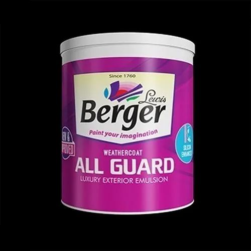 Paints Primer And Wall Putty Berger Weathercoat Exterior Emulsion Paint Wholesale Trader From Guwahati