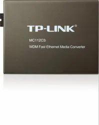 TP-LINK  MEDIA CONVERTER MC112CS