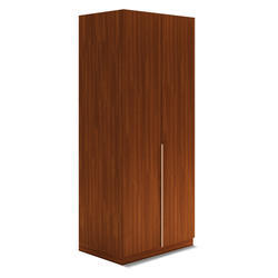 Wooden Hinged Single Wardrobe