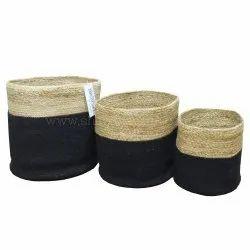 Food Storage Jute Baskets