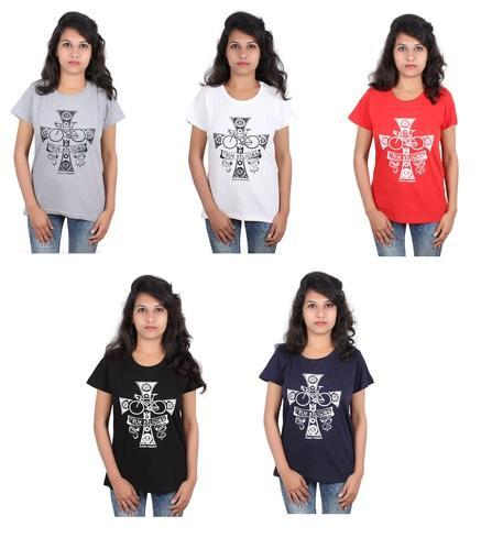 9113f7ca Multicolor Cotton Branded Trifoi Tops, Size: XL, Rs 390 /piece | ID ...