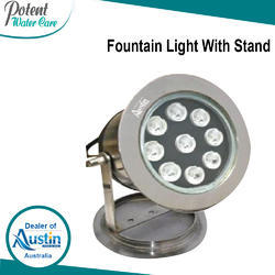 Fountain Light With Stand