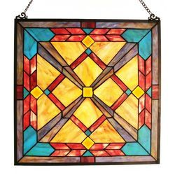 Transparent Stained Glass Panel