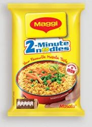 Maggi 2 Minute Noodles, Packaging Type: Packet