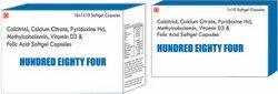 Calcitriol Calcium Citrate Pyridoxine Hcl Methylcobalamin Vitamin D3 and Folic Acid Softgel Capsules