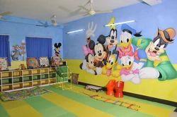 7 To 30 Days Play School Interior Designing Service