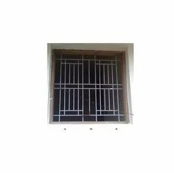 Varies Mild Steel MS Window Safety Grill, For Construction