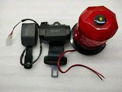 Forklift Seat Belt Alarm With Warning Light