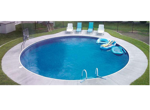 Plastic outdoor round swimming pools capacity 500 liters - How many litres in a swimming pool ...