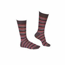 Cotton Ladies Sports Striped Socks