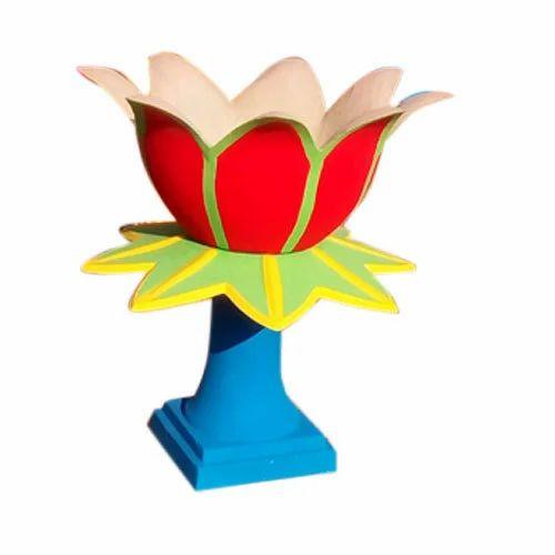Multicolor RCC Flower Pot