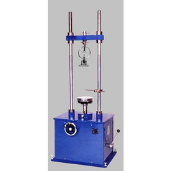 Unconfined Compressor Testing Machine