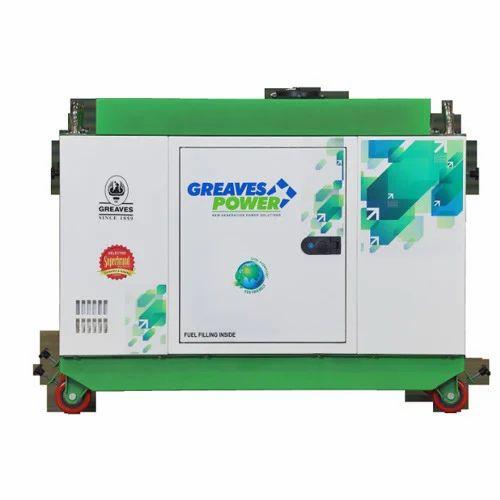 5 KVA Greaves Power DG Set