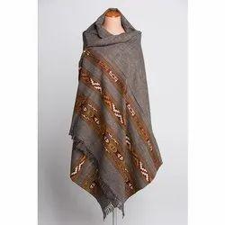 Authentic Yak Wool Shawl