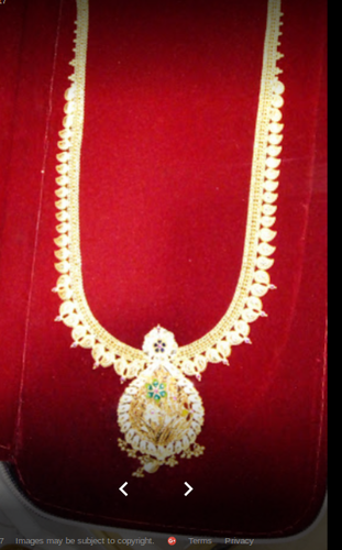 22903af1eae74 Retail Showroom of Gold Necklaces & Gold Ear Ring by Thangamayil ...