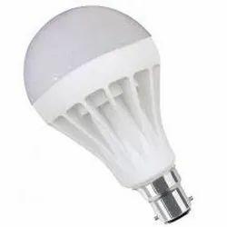 CE 12WATT LED BULB PLASTIC BODY, B22, Shape: Round
