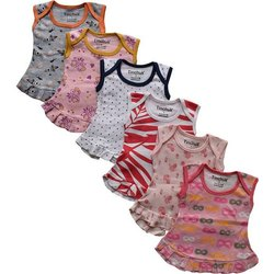 Casual Wear Baby Born Girl Frock Dress Jhabla