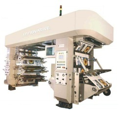 High Speed Six Colour Flexo Plastic Bag Printing Machine