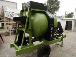 Mobile Concrete Drum Mixer
