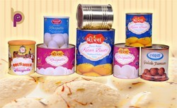 Tin Container For Sweets, Tomato Puree, Rasgulla, Gulab Jamun