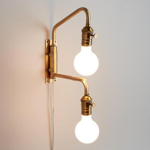 new style f4bf6 f379b Single Bulb Wall Light